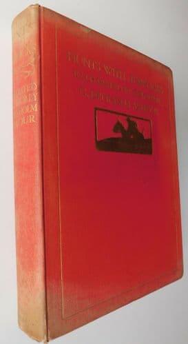 Hunts With Jorrocks  Edwardian book Denholm Armour 1908 Handley Cross by Surtees